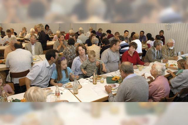 Gemeinsam speisen für guten Zweck
