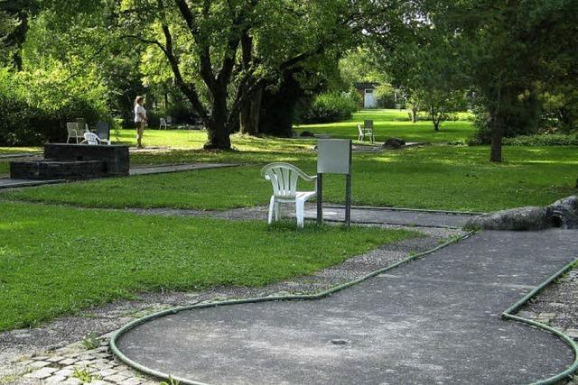 Neue Idee für den Kurpark