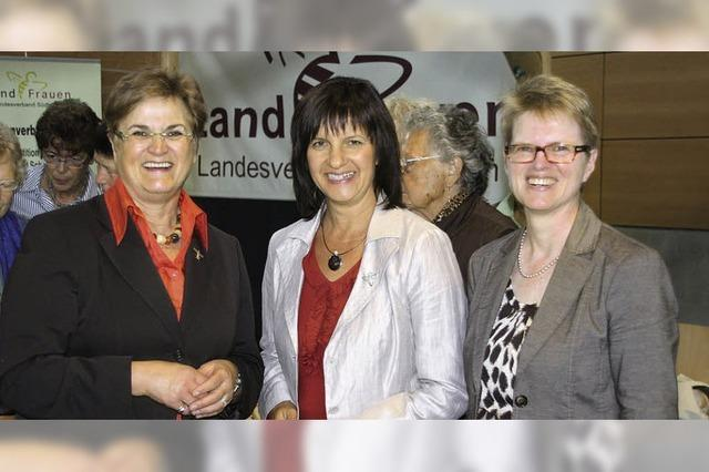 Viel Lob für die Landfrauen