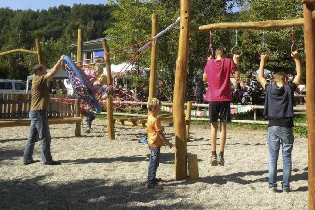 Spielplatz, wie ihn Kinder wünschten