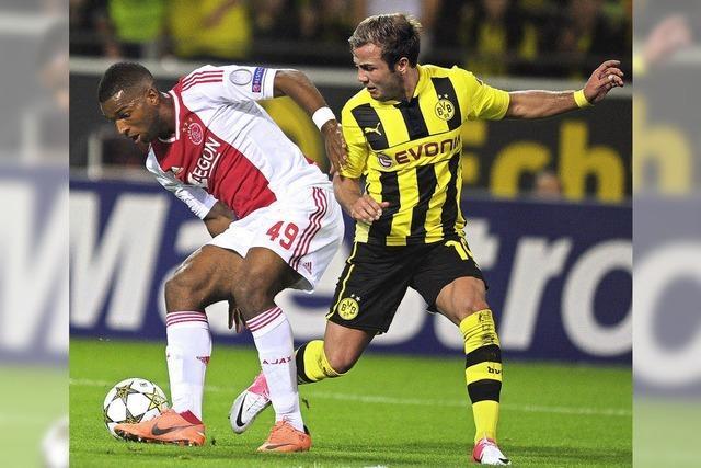 Dortmund und Schalke starten mit Siegen in die Champions League
