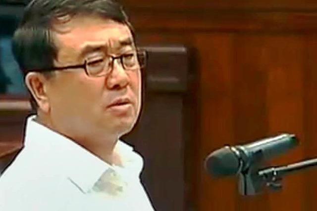 Starpolizist droht in China die Todesstrafe