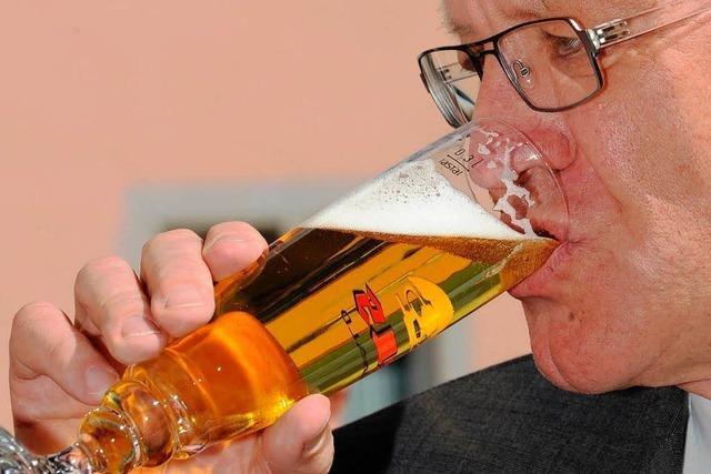 Kretschmann lehnt Verkauf der Rothaus-Brauerei ab