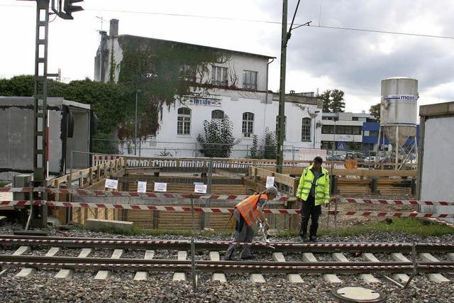 Das Bahnhofsareal steht im Fokus