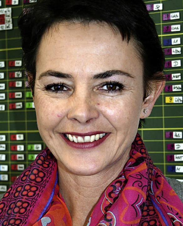 Rektorin Friederike Lanz    Foto: Dieter Maurer