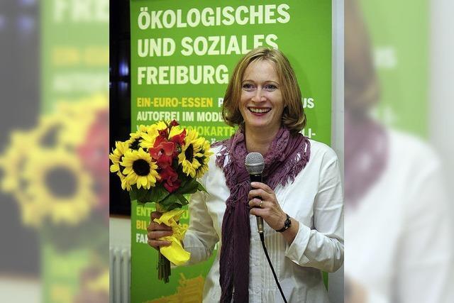 Bündnis 90/Die Grünen nominieren Kerstin Andreae erneut als Freiburger Kandidatin