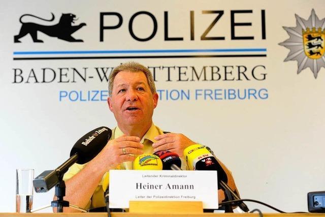 Freiburgs Polizeichef Heiner Amann: