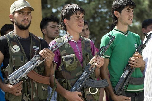 Armenier kämpfen an der Seite Assads