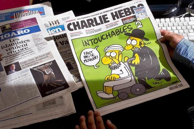 Franzosen verurteilen Publikation der Mohammed-Karikaturen