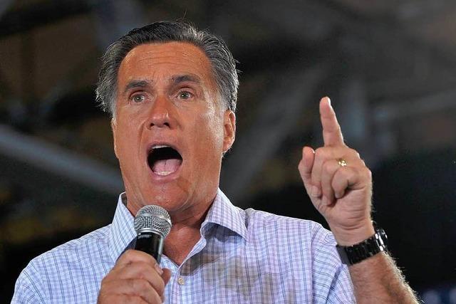 Romney rudert nach Skandal-Äußerungen zurück