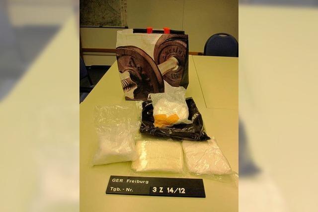Zoll und Polizei beschlagnahmen 5 Kilo Amphetamin