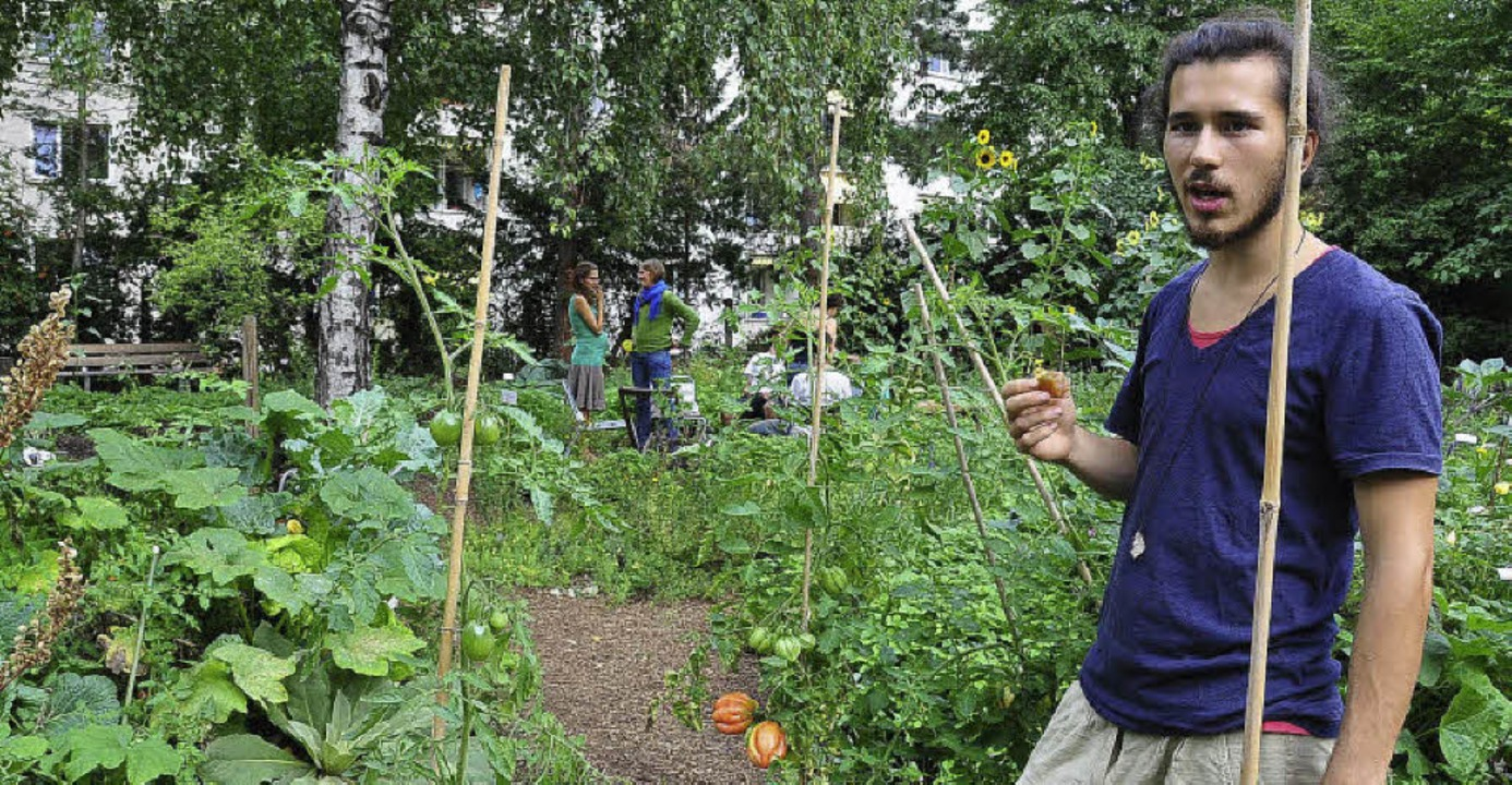 Hier wird gepflanzt, gepflegt und  gee...klärt das Gemeinschaftsgarten-Prinzip.  | Foto: Annette Mahro