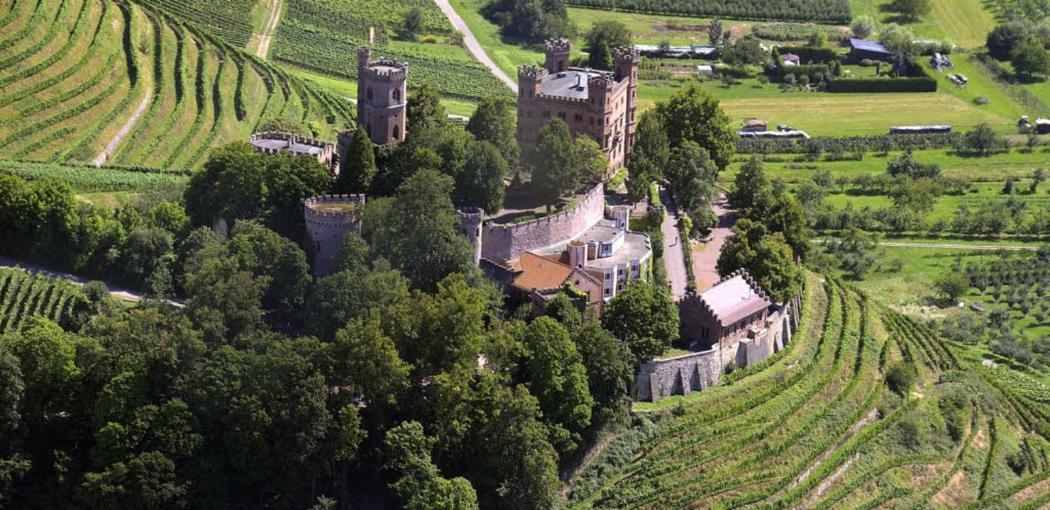 Schloss Ortenberg wird am Wochenende zu einer Esperanto-Hochburg.   | Foto: Ralf Burgmaier