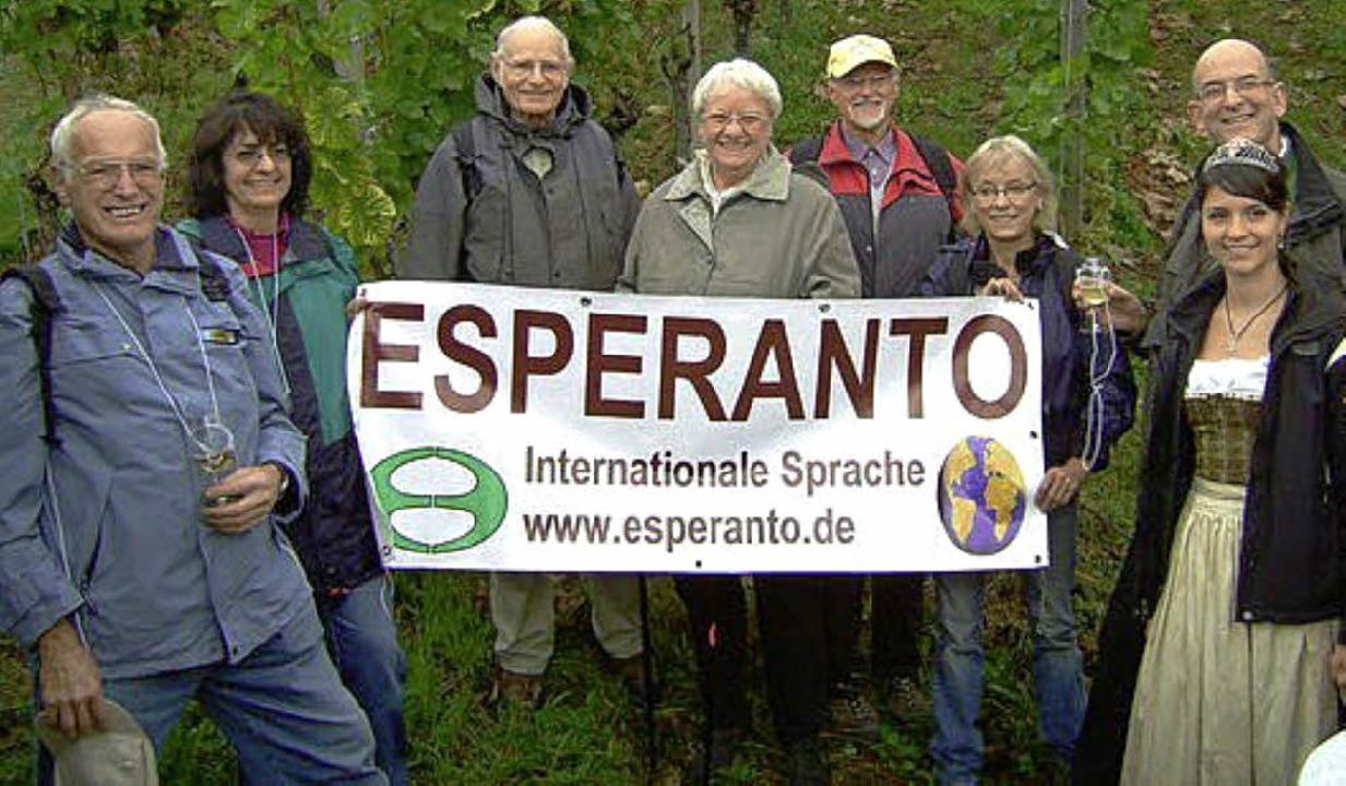 Esperanto-Gruppe Oberkirch engelbert Sester  | Foto: Engelbert Sester