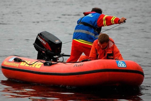 Die Suche nach dem Tretbootfahrer auf dem Titisee ruht