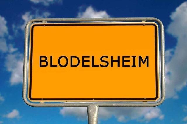 Warum heißt Blodelsheim Blodelsheim?