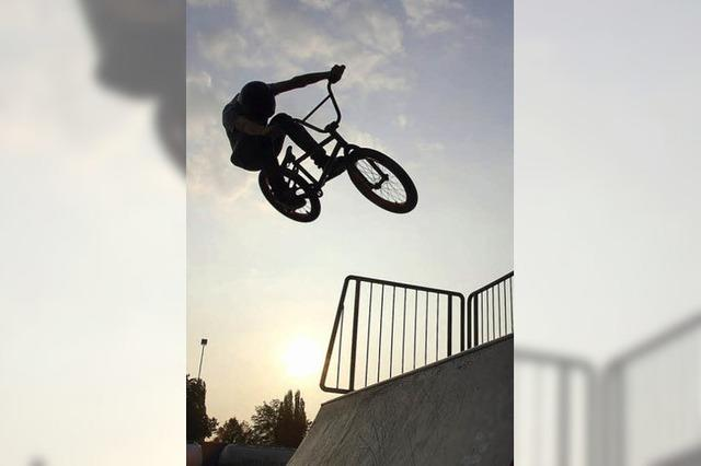 Ein Betonpark für Skater und BMX-Biker?