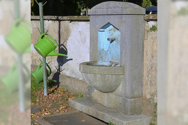 Ärger auf dem Friedhof