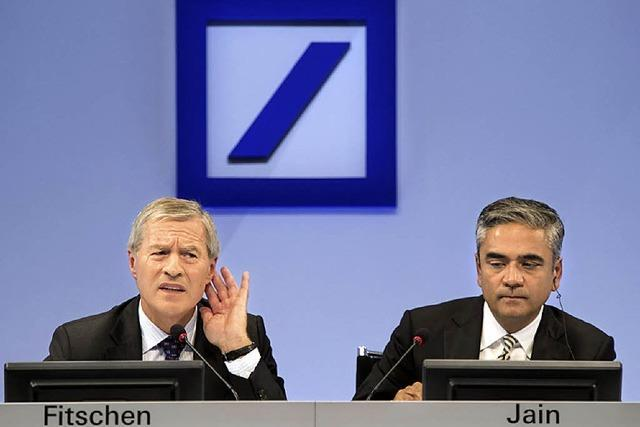 Deutsche Bank streicht Jobs im Inland