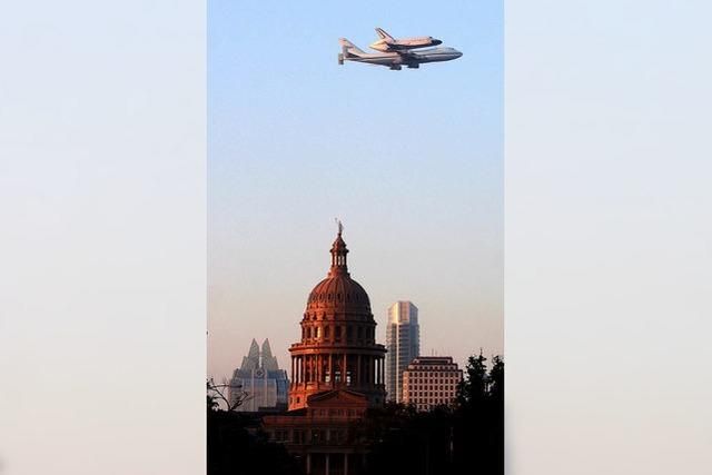 Letztes Shuttle landet im Museum