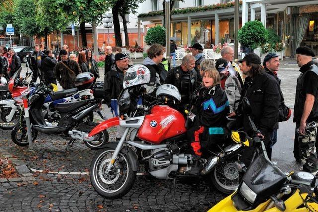 Park-Protest: Motorradfahrer ärgern sich über Stadtverwaltung