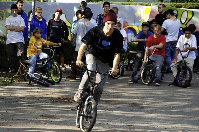 Der Skatepark soll erweitert werden
