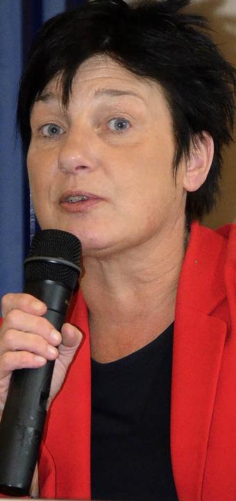 Ministerin  Katrin Altpeter    Foto: Karen Christeleit