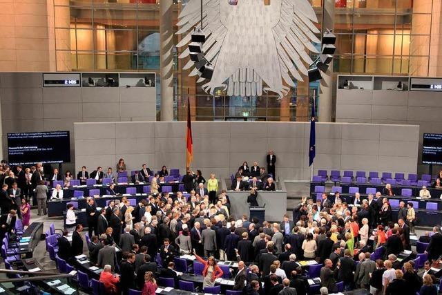 Das Parlament wird weiter wachsen