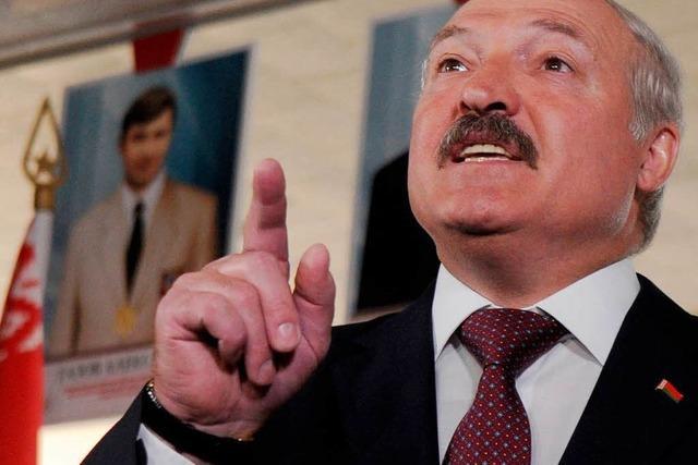 Opposition: Wahlbeteiligung in Weißrussland unter 40 Prozent