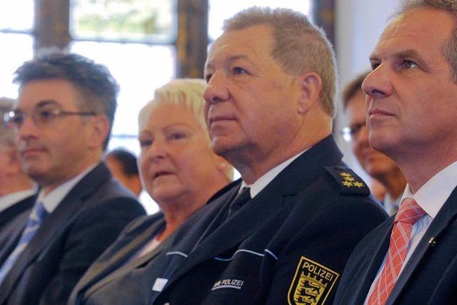 Polizeichef Amann nimmt Abschied – Appell an Minister Gall