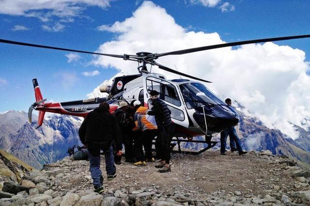 Ortenauer überlebt Lawinenunglück in Nepal