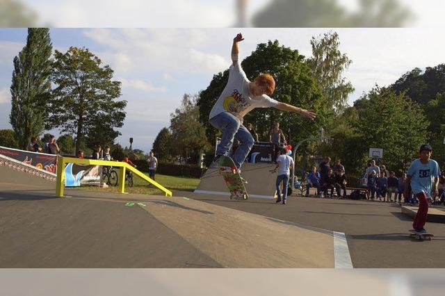 Gerätepark für Skater
