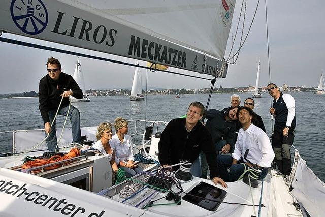 BZ-CARD: BZ-Team hisste erfolgreich die Segel