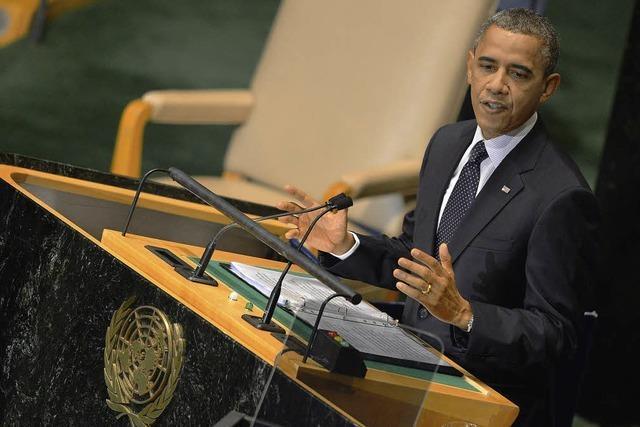Obama warnt den Iran vor Spiel auf Zeit
