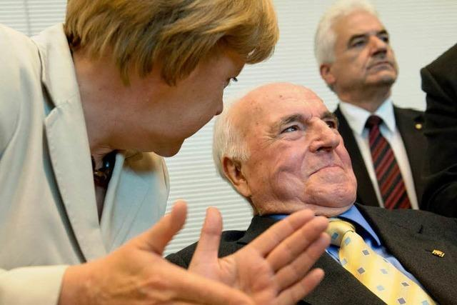 20-minütiger Auftritt: Kohl besucht die CDU-Fraktion