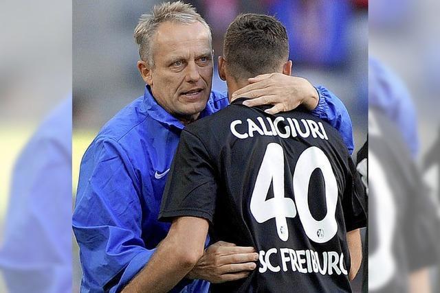 SC-Trainer Streich hat großen Respekt vor der Bremer Offensive