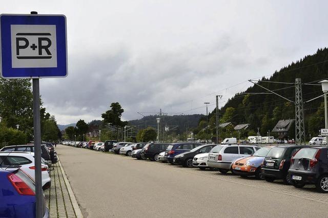 Pendlerparkplatz am Bahnhof Titisee wird gebührenpflichtig