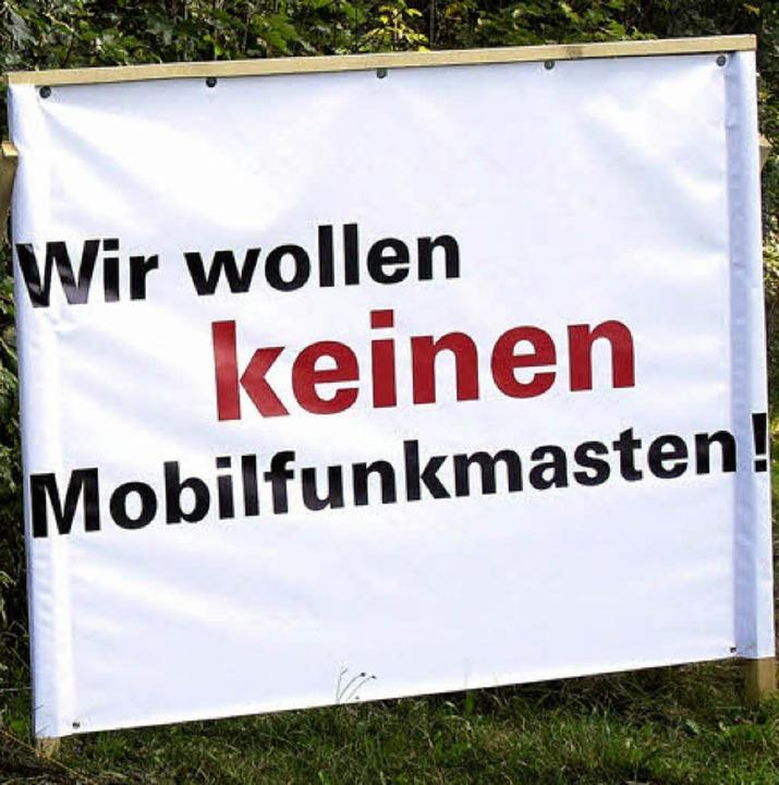 Bürgerinitiative ist gegen einen  Funkmasten in Balzhausen.  | Foto: wd