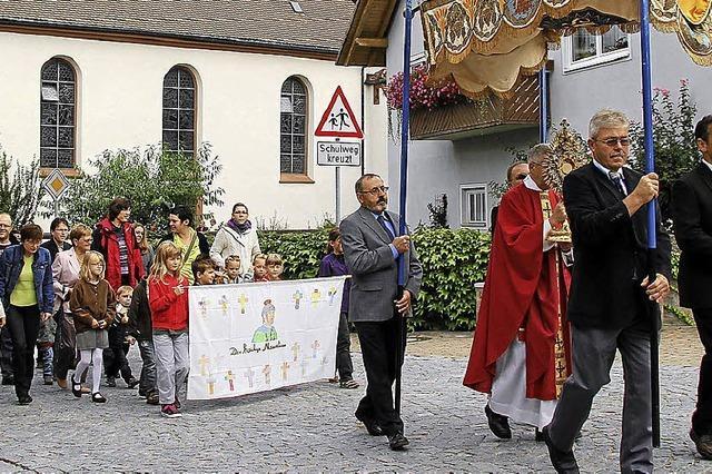 Ein Fest zu Ehren des Kirchenpatrons St. Mauritius