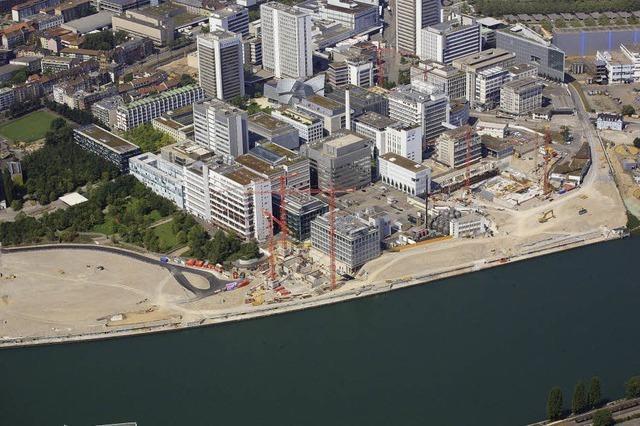 In Basel wird das Rheinufer umgestaltet