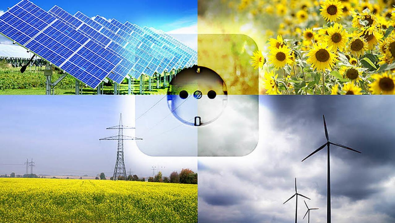 Mit Wind, Sonne und Biomasse können wi...nergiebedarf decken, sagen  Forscher.   | Foto: fotolia/thaut images