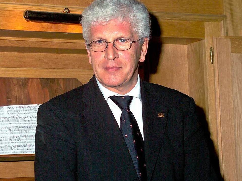 Organist Klemens Schnorr  | Foto: Pro