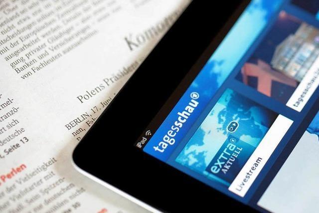 Tagesschau-App: Gericht gibt Zeitungsverlagen recht