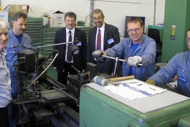 BASF Schweiz investiert in Kaisten