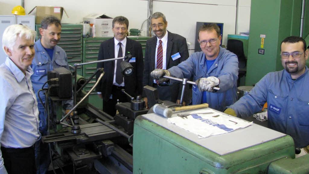 BASF Schweiz investiert in Kaisten - Aargau - Badische Zeitung