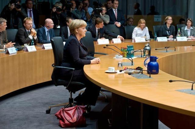 Merkel: Habe bei Gorleben nicht gelogen