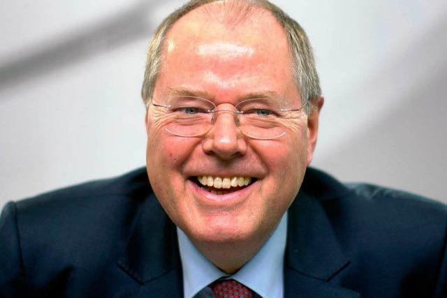 Steinbrück wird voraussichtlich SPD-Kanzlerkandidat