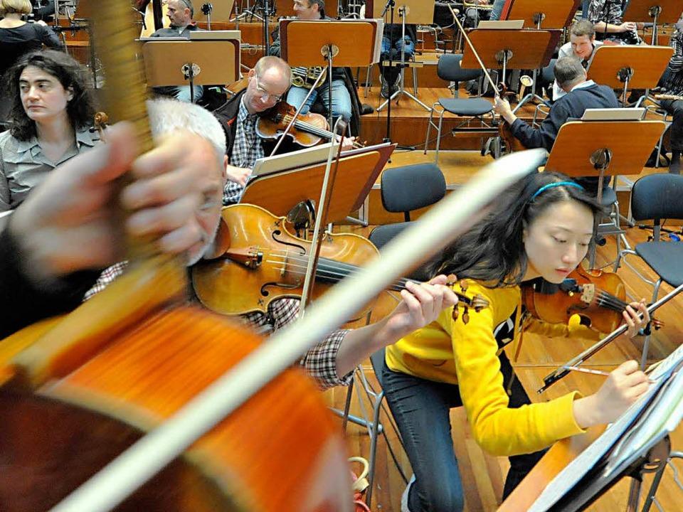 Klarheit für die Musiker  | Foto: Michael Bamberger