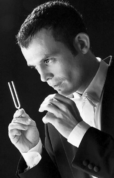 Kommt mit seiner Klang-Werkstatt in den Hochschwarzwald: Dirigent Thomas Wieser.  | Foto: Privat