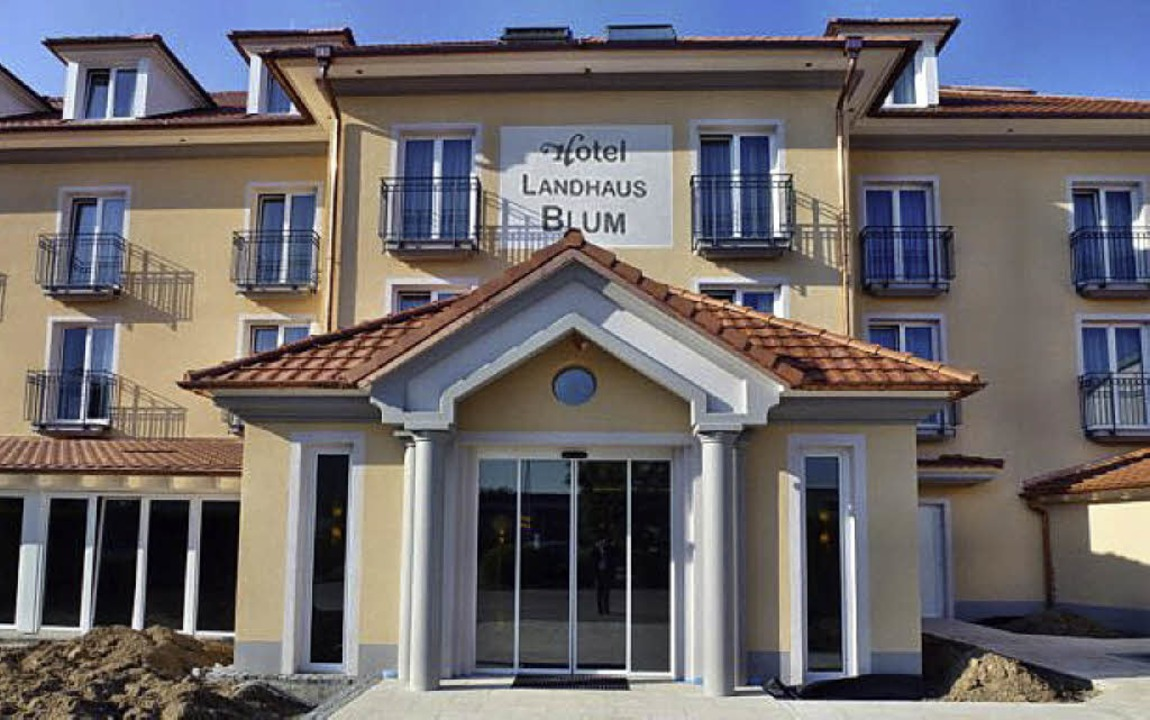 Am 3. Oktober lädt Familie Blum zum Ta... offenen Tür im neuen Hotel Landhaus.     Foto: Fotos: FWB